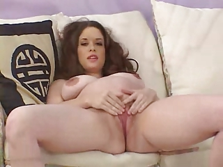 Beautiful Young Pregnant Catholic Playing With Big Dildo