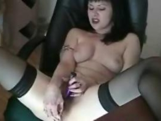Steamy super sexy brunette battle-axe bangs