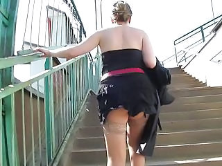 Tan Stockings Upskirt 2