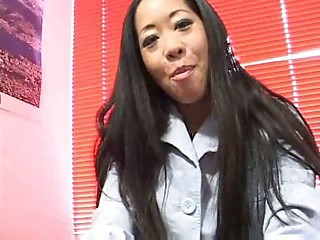 Asian  Mature Secretary