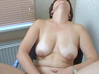 Casting Masturbating Mature Mom Natural Russian SaggyTits