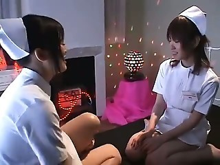 Asian Japanese Lesbian Nurse Teen Uniform