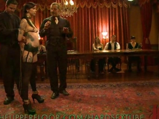 House Slaves Respecting Lecherous Pleasure