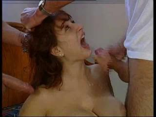 Big Tits Cumshot European Facial German Vintage