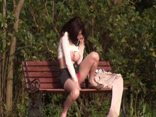 Asian Japanese  Outdoor Public Voyeur