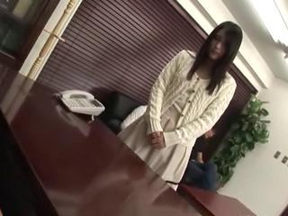 Asian Casting Japanese Office Teen