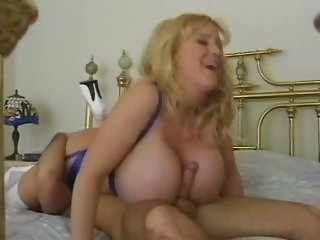 Huge Natural Titted Blonde Mommy by TROC