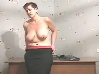 Amateur Chubby Mature  Stripper