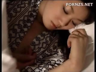 Asian Cute Sleeping Wife