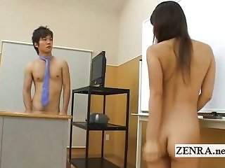 Asian Japanese Nudist Student
