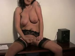 Masturbating  Natural  Solo Stockings
