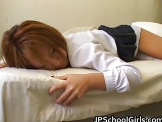 Asian Japanese Sleeping Student Teen Uniform