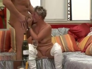Blowjob Drunk European German Mature