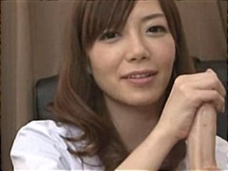 Nachi Sakaki puts together a compilation of solo masturbation and handjobs