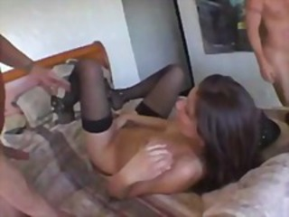 DP Forth A Hot Brunette