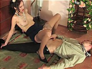 Beautiful Brunette Charming For Sex