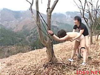 Asian Bondage Hardcore Japanese Outdoor Slave