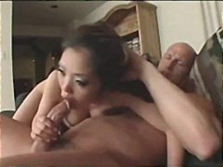 Asian Blowjob Interracial Pornstar