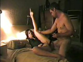 He warms her up with a toy and ass fucks her tubes