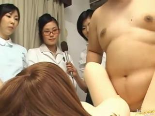 Asian Groupsex Korean Nurse Orgy Uniform