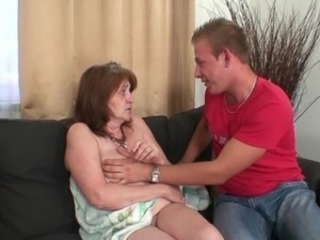 He acquires his wife's aged mom