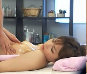Asian Japanese Massage Oiled Small Tits