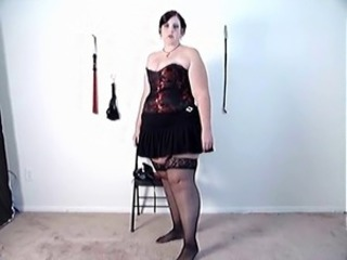 Chubby Mature Stockings
