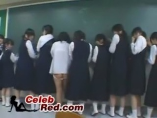 Inane Jap Professor Violates Teriffied Schoolgirls  crazy free