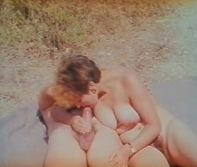Blowjob  Natural Outdoor Vintage