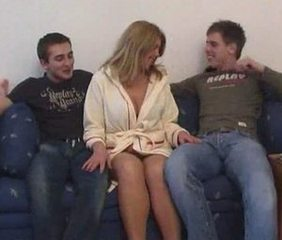Mature Russian Threesome