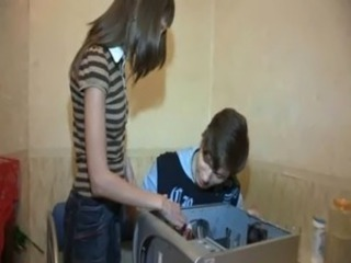 Homemade Russian Teen
