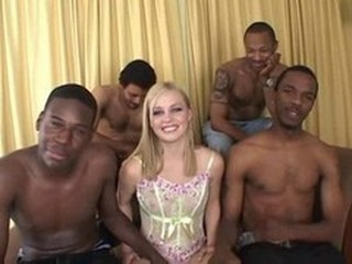 Gangbang Interracial Pornstar Teen