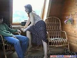 Experienced Mom Fucked By Son Part 2