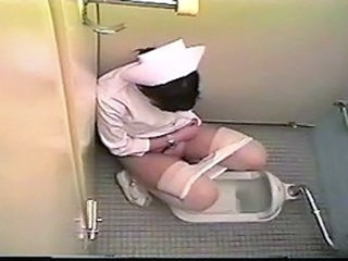 Asian Japanese Nurse Toilet Uniform