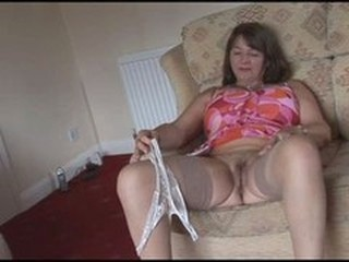 British Chubby European Mature Stockings
