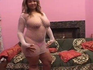 Big Tits Chubby Fishnet