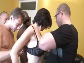 Gangbang Interracial Mature