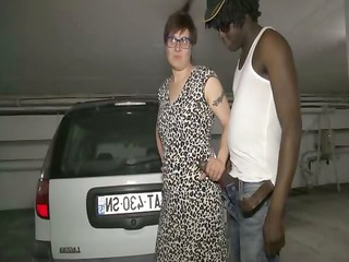 Car Glasses Handjob Interracial Mature