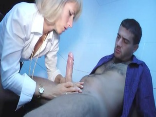 hot french mature angel enjoys a difficult gang