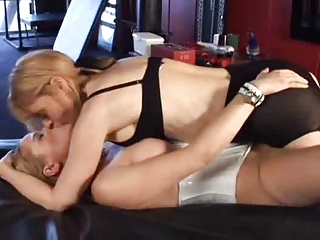 Innocent Skirt Seduced By Mature Lesbian - Nina &;