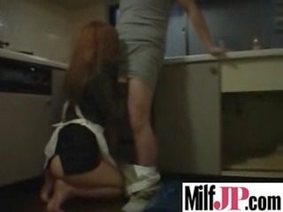 Asian Blowjob Clothed Japanese Kitchen