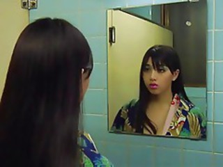 Asian Bathroom Cute Japanese Teen