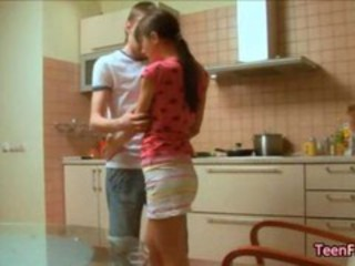 "Insane euro kitchen sex of horny amateur couple super hot"" target=""_blank"