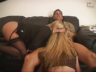Anal  Fucked With Two Matures Blondes  by