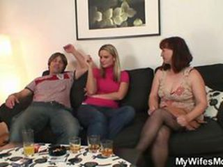 Family Threesome Wife