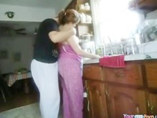 "Kitchen Doggystyle Quickie"" target=""_blank"