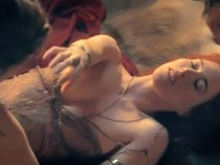 "Spartacus: Lucy Lawless and Jaime Murray 02"" target=""_blank"