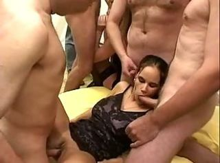 German orgy with lot of cum