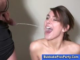 "Pissing Bukkake Slut Blond Shower"" target=""_blank"