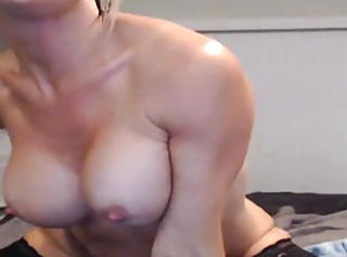 Big Tits Masturbating  Solo Webcam